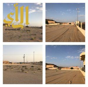 بلدية طريب تهيئ وتجهز مصليات الاعياد