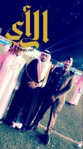 سلطان آل ضبعان يحتفل بتخرجه برتبة ملازم