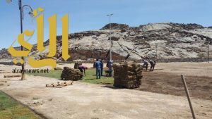 بلدية طريب تنفذ عدة مشاريع بالمحافظة والمراكز التابعة لها