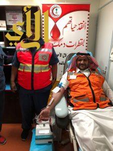 إنطلاق مبادرة ( تبرع بدمك وانقذ حياة ) بمنطقة الباحة