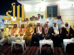 """الكاتب حسين الفهري يحتفل بزواج ابنه """"عامر"""""""