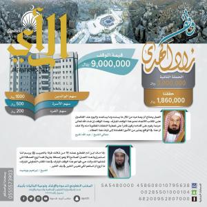 """تعاوني أجياد يدشّن المرحلة الثانية من """"وقف زاد الهدى"""" بمنطقة الحرم"""