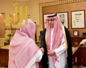 """""""السديري"""" يُباشر عمله وكيلاً لإمارة منطقة الرياض"""