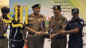 مدير الدفاع المدني بمنطقة الباحة يرعى نهائي الانشطة الرياضية لهذا العام 2018م