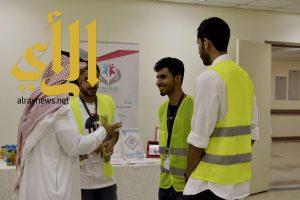 فريق هدفنا واحد التطوعي يقيم فعالية ابتسم لنبتسم