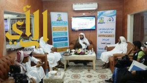 ضمن برنامج أسفار الشيخ الدويش يزور جمعية البر الخيرية بالحجرة