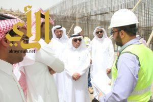 مدير عام المياه بمنطقة الباحة يقوم بجولة تفقدية لمشاريع المياه بمحافظة بلجرشي