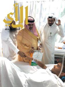 بر القنفذة تزور مرضى المستشفى العام بالقنفذة