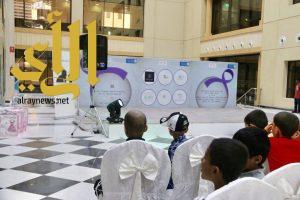 فريق أصدقاء العطاء ينظم فعالية ترفيهية للاطفال المنومين بمستشفى الملك خالد