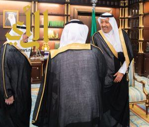 أمير الباحة يستقبل نائب وزير البيئة والمياه والزراعة