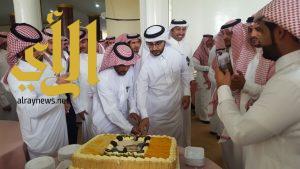 صحة الباحة تقيم حفل معايده لمنسوبيها