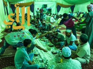 جمعية البر بالقنفذة تقدم ٢٤ ألف وجبة لإفطار الصائمين في رمضان