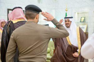 أمير منطقة الرياض بالنيابة يستقبل أعضاء اللجنة الأمنية الدائمة بالمنطقة