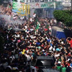 استقبال المنخب الجزائري