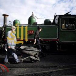 قطار أثري يسير منذ 100 عام