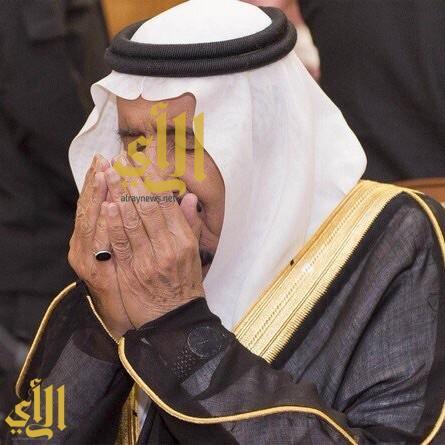 الملك سلمان في مسجد قباء