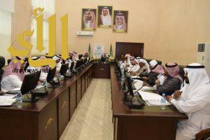 القصيبي يرأس اجتماع المجلس المحلي بمركز الحقو