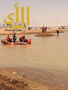 مدني نجران ينتشل غريق الوديعة