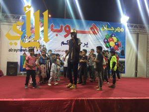 مسرح الطفل بمهرجان هروب يشهد إقبال كثيف في يومه الثالث