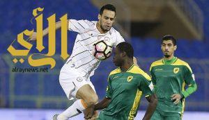 الشباب يتعادل مع الخليج ضمن مباريات الجولة 18