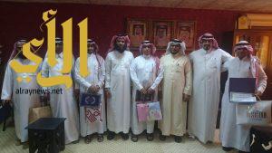 مدير مكتب التعليم ببيش يكرم موظفي قسم الإتصالات الإدارية