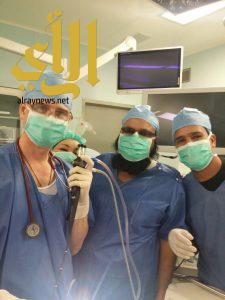 الصحة : نجاح أول عملية منظار للجهاز التنفسي