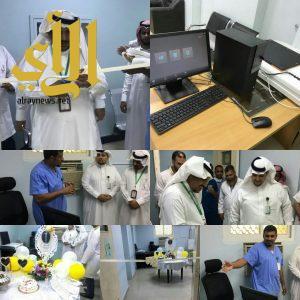 تشغيل جهازCR-scanner بقسم الاشعة بمركز صحي بارق