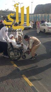 كشافة السلام بالرياض تشارك في خدمة زوار بيت الله الحرام