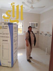جمعية البر بالسوقة جنوب محافظة الليث تسلم وحدة سكنية لمحتاج يعول أسرتين