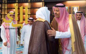 أمير الباحة يستقبل رئيس محكمة الاستئناف والقضاة بالمنطقة