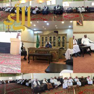 مجلس البلدي بمحافظة سراة عبيده يقوم بزيارة إلى مركز جوف آل معمر