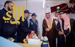 الإدارة العامة للتدريب التقني والمهني بمنطقة الباحة تشارك في فعاليات اليوم العالمي للدفاع المدني