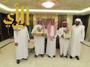 تكريم الفائزين بالتصفيات النهائية لمسابقة ( تدبر ) بتعليم الرياض
