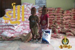 جمعية أبوعريش تصرف 600 سلة غذائية على الأسر المستفيدة