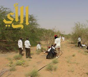 بدء المشروع الكشفي لنظافة وحماية البيئة بوادي الدواسر