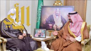أمير نجران يستقبل مدير فرع هيئة الأمر بالمعروف بالمنطقة