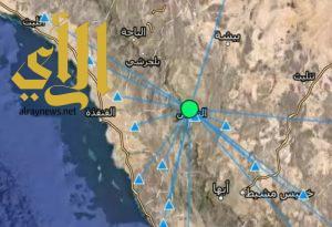 رصد هزة أرضية خامسة خلال أسبوع شمال النماص
