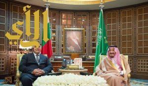 الملك سلمان يعقد جلسة مباحثات رسمية مع رئيس مجلس وزراء بلغاريا