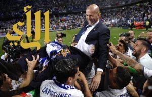 ريال مدريد يحرز لقب الدوري الاسباني لكرة القدم  للمرة الثالث والثلاثين