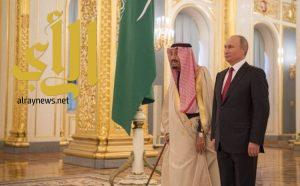 بوتين: زيارة خادم الحرمين الشريفين لروسيا شرف كبير وحدث تاريخي