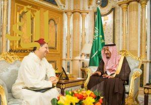 الملك سلمان يستقبل وزير الشؤون الخارجية والتعاون المغربي