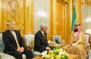 ولي العهد يجتمع مع حاكم ولاية مسيسيبي