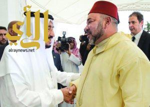 ملك المغرب يُشيد بجهود خادم الحرمين في خدمة حجاج بيت الله